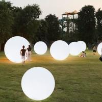 发光游泳池漂浮装饰灯球