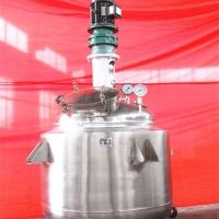 山东旺林100L水热合成常压反应釜 不锈钢电加热白乳胶反应釜