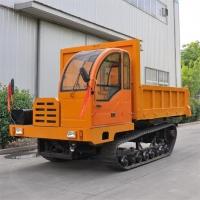 工程大吨位柴油履带运输车爬山王XT-8T