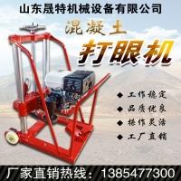 橋梁鋼筋混凝土地面汽油款鉆孔取芯機 采樣機