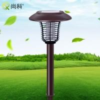 全国现货 尚科太阳能灭蚊灯 灭虫灯捕虫器 电击灭蚊灯 频振式