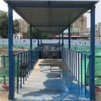河北鑫洪定制优质安全爬梯 建筑施工梯笼 组合式梯笼