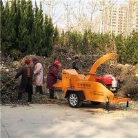 园林绿化局枝桠粉碎机修剪树枝落叶花朵粉碎机