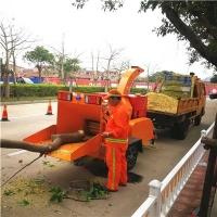 移动式高效树枝切碎设备20cm以下树干