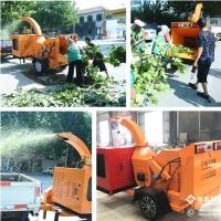 小区物业修剪园林杂树硬木料处理青树枝粉碎机