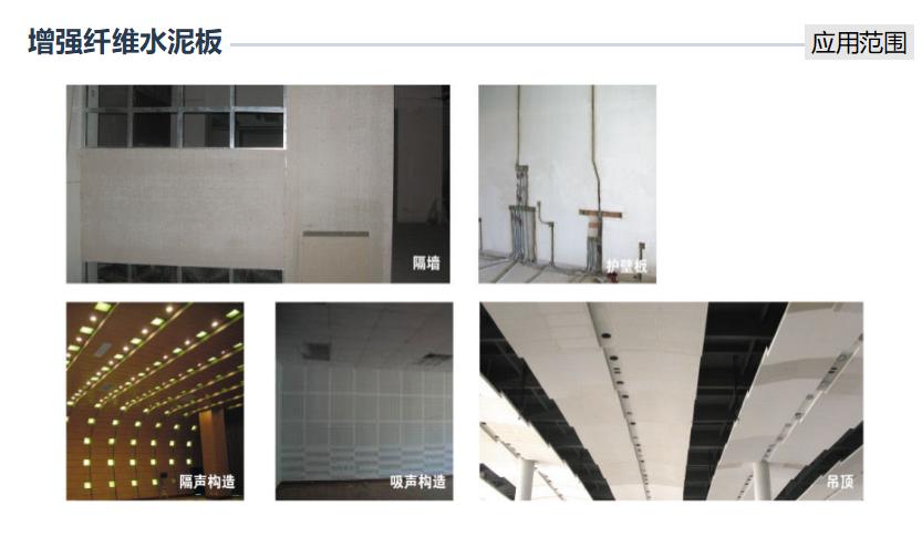 增强纤维水泥板和硅酸钙板