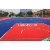悬浮式篮球场运动地板幼儿园活动式拼装球场直销