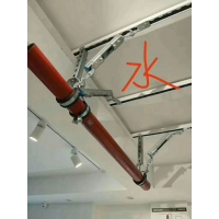 成都水管风管 桥架 消防管道侧向纵向抗震支架