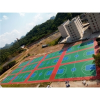 專業運動場施工|運動場材料|室外運動場工程