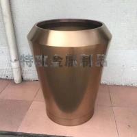 不锈钢花盆 不锈钢花箱 特攻不锈钢花器定制