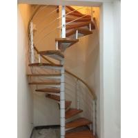 工厂直销时尚别墅复式阁楼楼梯 旋转楼梯 室内钢木楼梯可上门安