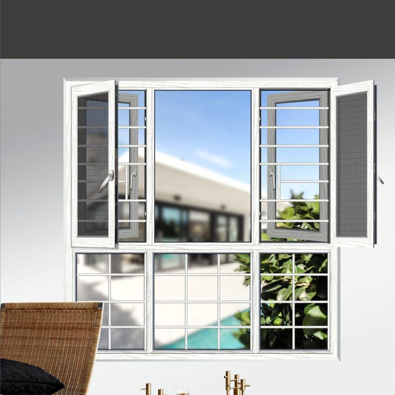 12博门窗130/135断桥平开窗系列