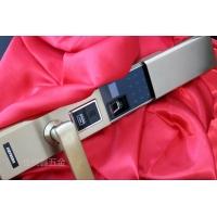 智能指紋密碼鎖 家用防盜門鎖304不銹鋼鎖體北京上門安裝