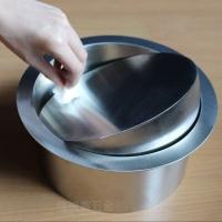 台面嵌入式垃圾桶 304不锈钢垃圾桶装饰盖内径14cm 洗手