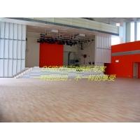 供应新疆舞台木地板,欧氏运动地板安装施工方案