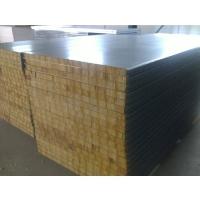 武汉950型岩棉夹芯板彩钢板保温板