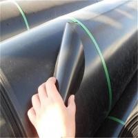 重慶防滲土工膜黑色用于養殖場污水池施工