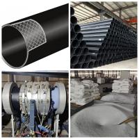 包头优质钢丝网骨架聚乙烯pe复合管 外网消防专用管材