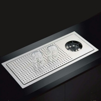 NODMA 洗杯器水槽NQ566吧台杯子清洗水槽