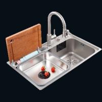 MT8048DB拉伸水槽诺帝玛厨房水槽洗碗槽