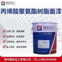 供应 昆彩牌 丙烯酸聚氨酯树脂面漆 耐水性优良