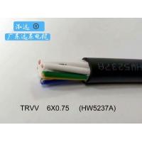 广东远东电缆实业泓远TRVV6×0.75mm2