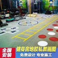 供應健身房PVC運動地板,PVC彈性舞蹈地板定制