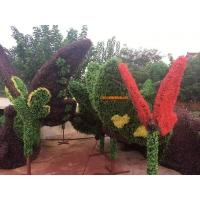 节庆仿真花草雕塑,庆祝国庆雕塑