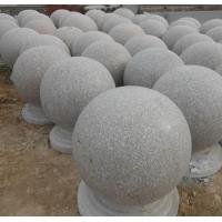 耐用挡车石球、球形车止石、广场圆球