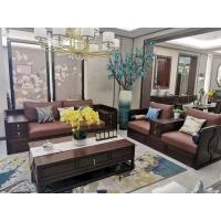 新中式沙发三件套布艺