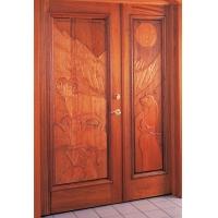 亚格进口门窗--动物图案系列实木进户门
