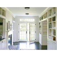 亚格进口门窗--法式平开门 铝包木门