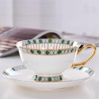 唯奥陶瓷下午茶水杯套装 定制欧式骨瓷商务礼品咖啡杯碟