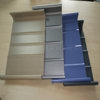 直立锁边屋面板 客运站45-470 铝镁锰合金屋面