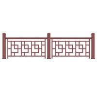 别墅院墙铝合金护栏欧式花园护栏