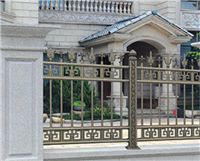 铝艺阳台防护栏小区阳台隔离防护安全围栏