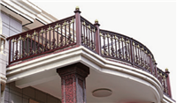 小区阳台露天护栏别墅简约时尚铝艺护栏庭院护栏