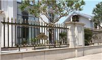 别墅庭院围墙栏欧式铝合金外墙阳台花园铝制护栏围栏