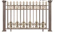 铝艺阳台护栏铝合金阳台栏杆别墅小区院欧式家用