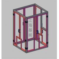 铝型材框架图 机械设备框架铝材图 流水线框架图