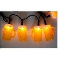 OEM酒瓶灯串,LED啤酒杯灯串,LED广告促销礼品灯串