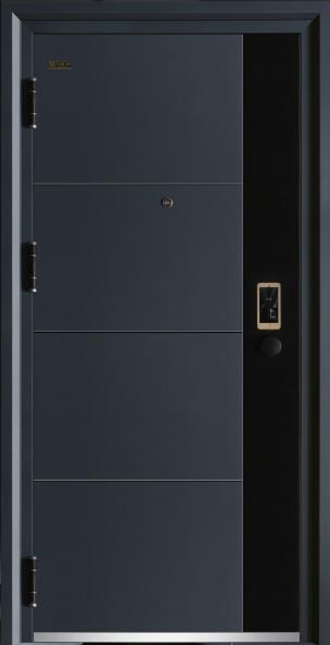 蓝色印象J217A-10公分甲级智能防盗门