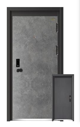 10公分甲级精品防盗单门-J229A-梦幻梳影
