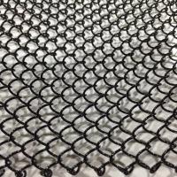 鍍洛金屬裝飾網 裝飾網簾 螺旋掛網幕墻網 鍍鋅鋼絲金屬裝飾網