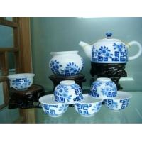景德镇高档商务礼品茶具定制陶瓷茶具