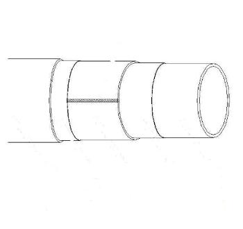 PSP钢塑复合压力管 全新料 DN20-DN200 2.50
