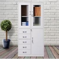 广州展搏办公室文件铁皮档案资料书柜凭证矮柜铁柜带锁小柜子储物