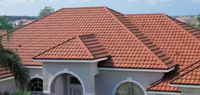 金属瓦片屋面瓦彩石金属瓦防火装饰瓦别墅瓦屋顶改造瓦