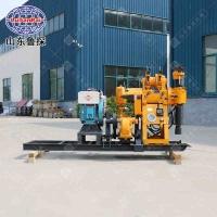 130型百米鉆機 液壓工程勘探鉆機 20馬力柴油機效率高