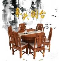 东阳卓瑞红木圆餐台1.2米